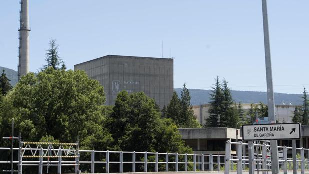 Central nuclear de Santa María de Garoña, en Burgos