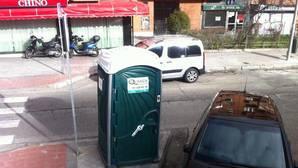 El urinario en cuestión de la calle del Doctor Esquerdo