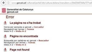 La Generalitat de Cataluña elimina de su web la referencia a las Fallas como «cultura popular catalana»