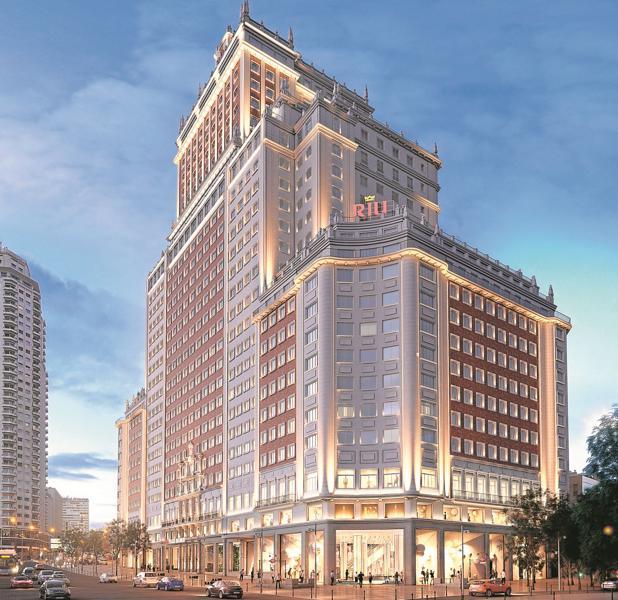 Baraka desvela la nueva imagen del edificio espa a for Edificio de la comunidad de madrid