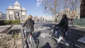 El carril-bici de la discordia