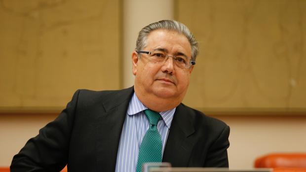 Juan Ignacio Zoido, ante la comisión de Interior el pasado enero