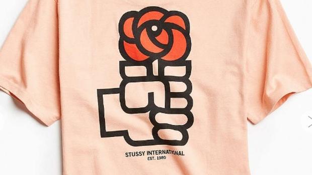 La camiseta con el logo del PSOE