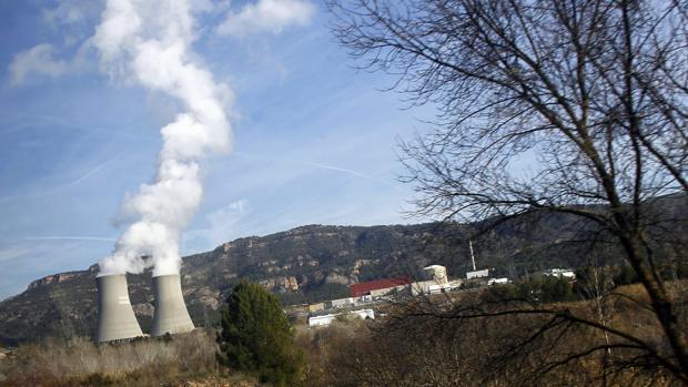 Imagen de la central nuclear de Cofrentes