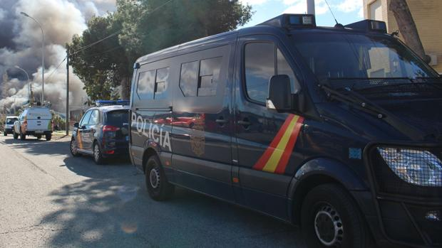 Imagen de archivo de un vehículo de la Policía Nacional de Valencia