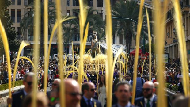 Imagen de la procesión celebrada este domingo en Elche