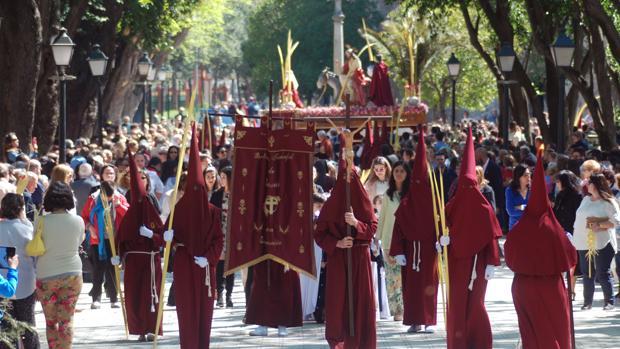 La procesión del Domingo de Ramos en Talavera