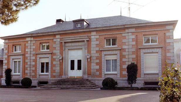 Fachada del Palacio de La Zarzuela