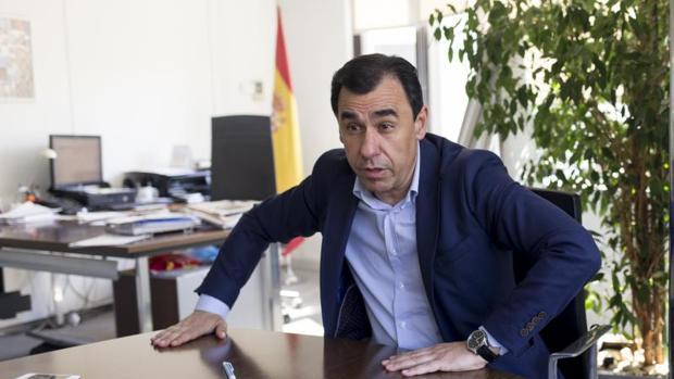 Fernando Martínez-Maillo en una entrevista con ABC la semana pasada