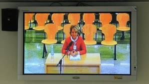 Esperanza Aguirre, en la Audiencia Nacional