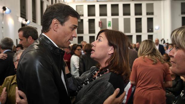 Francina Armengol apoya oficialmente a Patxi López como futuro secretario general del PSOE