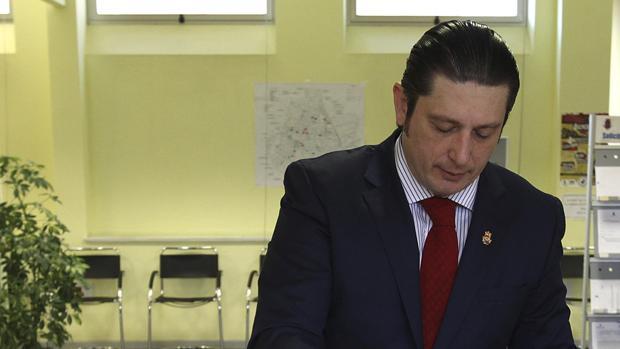 El hasta ahora portavoz del Grupo Municipal de Ciudadanos Ciudad Real, Pedro Fernández Aránguez