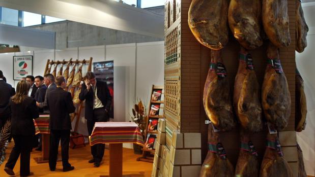 Congreso Mundial del Jamón celebrado en el Palacio de Congresos de Teruel