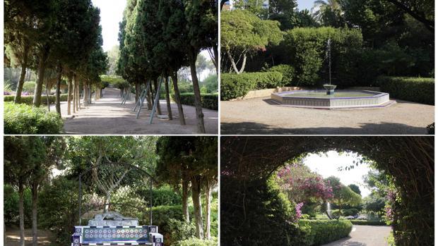 Los jardines de marivent se abrir n por vez primera al for Jardines de marivent