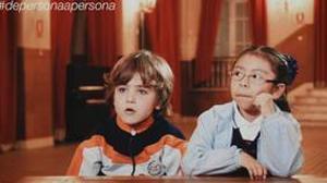 Imagen del vídeo difundido por Escuelas Católicas