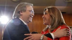 Carmona y Susana Díaz en una imagen de archivo