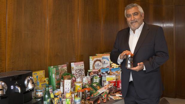 El director general de Nestlé en España, Laurent Dereux