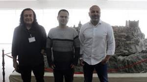 Fernando Barredo, David Llorente y José GArcía Molina son los tres candidatos a liderar Podemos en Castilla-La Mancha