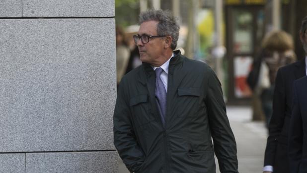 Jordi Pujol Ferrusola, hoy encarcelado, en la Audiencia Nacional