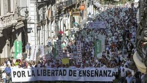 Imagen de la manifestación celebrada el pasado 6 de mayo en Valencia