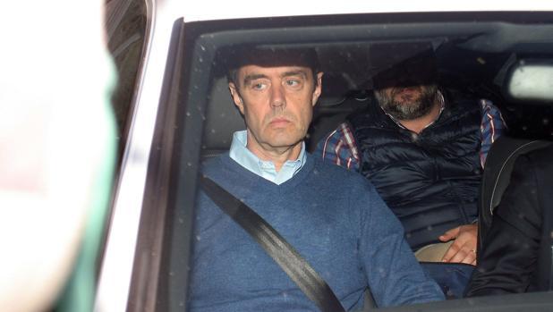 Imagen de Miguel López tomada el día que salió de la prisión