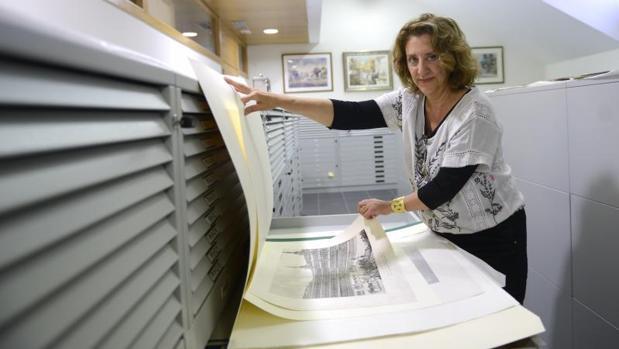 Isabel Tuda, jefa de conservación del Museo de Historia de Madrid