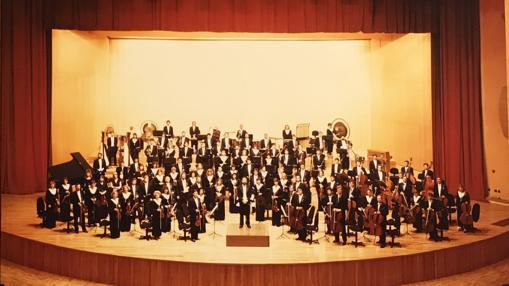 La OSG se presentó ante el público coruñés el 15 de mayo de 1992 en el Palacio de la Ópera