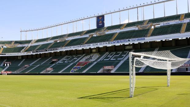 Imagen del estadio Martínez Valero, del Elche CF