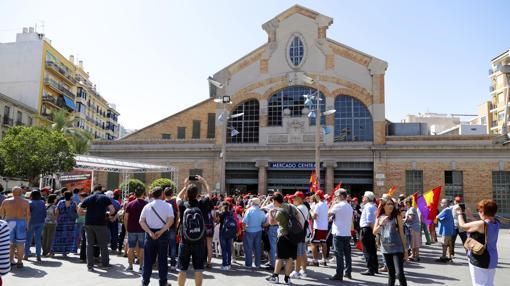 Imagen del acto celebrado en honor a las víctimas del bombardeo