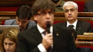 Gordó, tras Puigdemont y Pascal, en el Parlamento de Cataluña