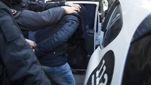 Una imagen de archivo de detenciones por vinculación con el yihadismo