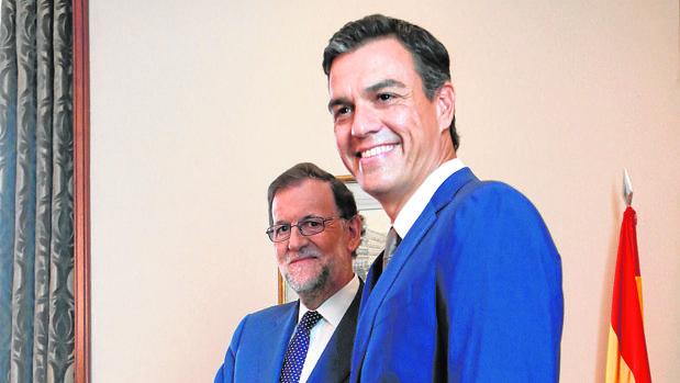 Mariano Rajoy y Pedro Sánchez, el 29 de agosto en el Congreso de los Diputados