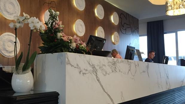El acceso a eventos del hotel