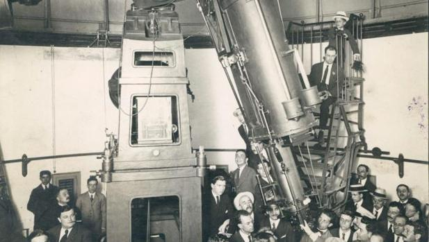 Observatorio Fabra de Barcelona, en 1919