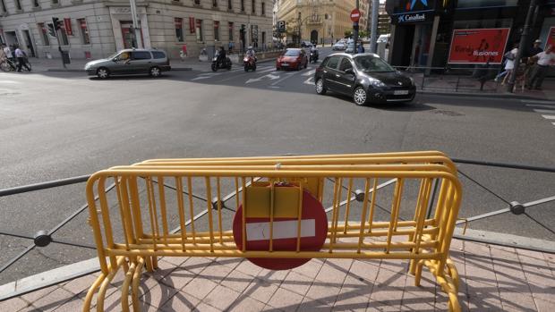 Calle abierta al tráfico este lunes tras las restricciones de este fin de semana por contaminación