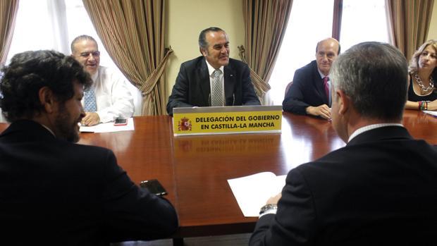 Reunión, este lunes, del delegado del Gobierno de Castilla-La Mancha con motivo del Plan de Incendios Forestales