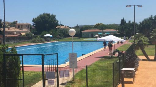 Imagen de la piscina olímpica del Club de Campo de Alicante