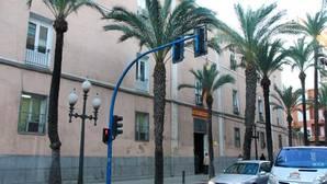 Imagen del cuartel de la Guardia Civil en Alicante