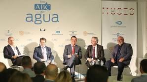 Los consejeros de Castilla-La Mancha, Murcia, Aragón y Comunidad Valenciana en el Foro del Agua de ABC