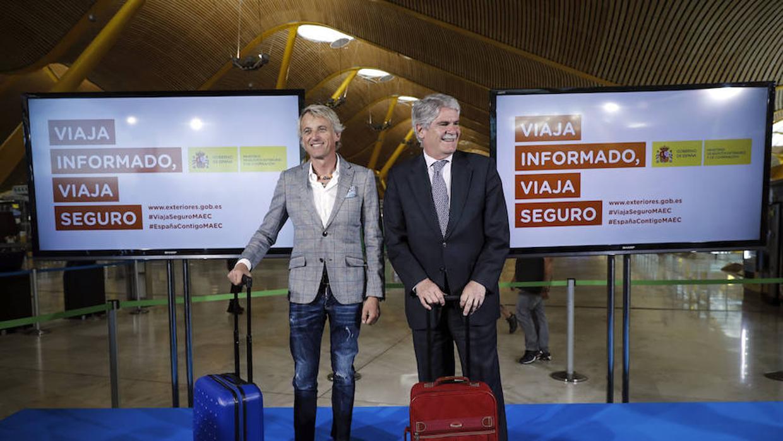 Exteriores insta a los espa oles a viajar al extranjero for Exteriores espana
