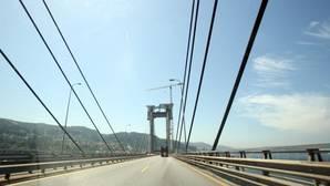 Puente de Rande, uno de los tramos con más densidad de tráfico de la AP-9