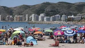 Imagen de la playa de Cullera