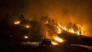 Incendio en Entrimo (Orense) el pasado septiembre