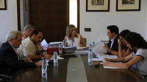Junta de Gobierno Local presidida por la alcaldesa de Toledo, Milagros Tolón