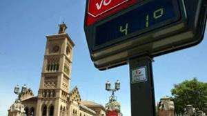 Altas temperaturas en Toledo