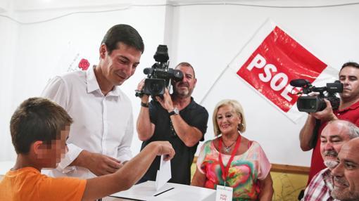 Imagen de Rafa García tomada este domingo