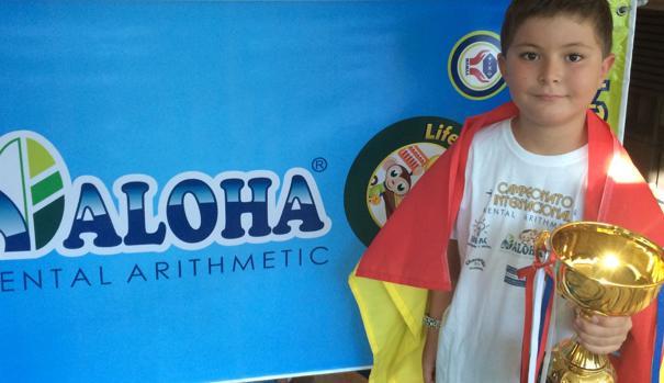 Un toledano de ocho años se proclama campeón del mundo de cálculo mental