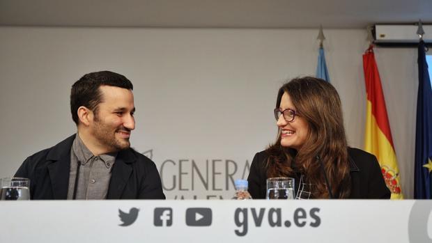 Imagen de archivo del conseller Marzà y la vicepresidenta Oltra