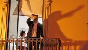 Imagen de Ximo Puig tomada este domingo en la sede del PSPV