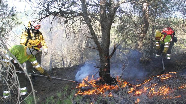 La Junta avisa del «elevado riesgo» de incendios para este martes